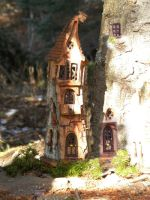 Mouse House by ForestDwellerHouses
