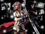 Lightning x Noctis by xLightRiOTx