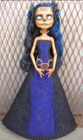 Monster High Robecca Day of the Dead Custom by AdeCiroDesigns