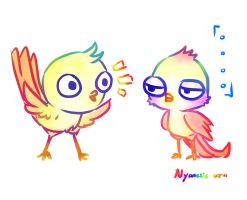 Birdies by Nyamesiss