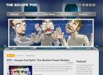 The Escape Pod Website and Header by BrainTreeStudios