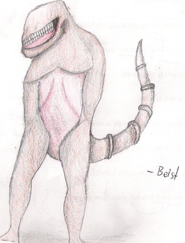 Armless Monster by beistraxis