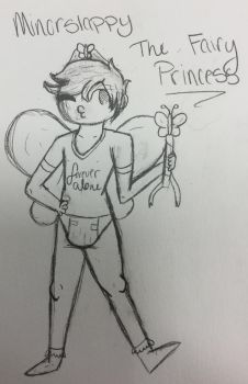Minorslappy: The Fairy (butterfly xD) Princess  by Hipeople4944