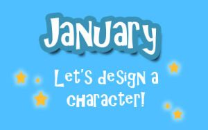 January - Character Design by ShamanEileen