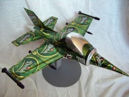 beer can plane by tamas kanya by tom-tom1969