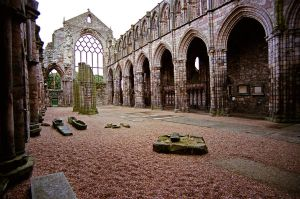 Hollyrood Abbey, Scotland by fourthwall