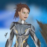 Sarah Kerrigan by Stroke1986