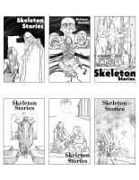 Skeleton Stories Poster Sketches by AdanMGarcia