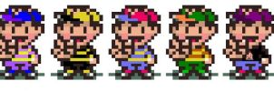 Smash Bros. Characters - Ness by Jrosen
