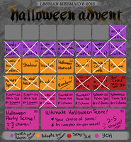 Halloween Advent: CLOSED by lesbian-mermaid