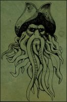 Davy Jones by radishninja