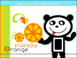 Orange . .  Panda by Exceptional-Mind
