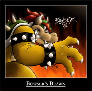 Bowser's Brawn by Harry64