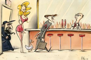 Bar Joke by Phostex