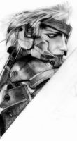Metal Gear Rising - revengeance (WIP) by deathlouis