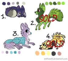 Fox adoptables 2. Open. by Melody335