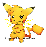 A WILD POCKYCHU APPEARED! by DragonA7X