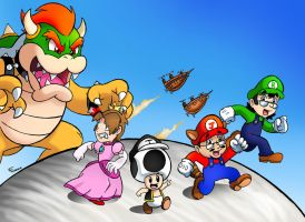 Brainscratchcomms Super Mario Bros. 3 by SonicKnight007