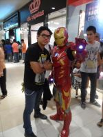 ME AND IRON MAN MARK VII (COSPLAY FERNANDO ERAZO) by MUERTITO69
