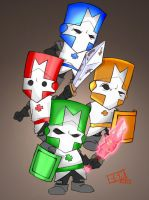 Castle Crashers by Tophoid