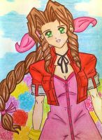 Lovely Aerith by dagga19 by dagga19