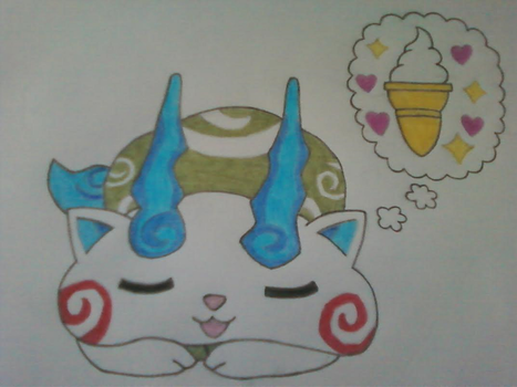 Komasan's Sweet Dream by InvaderSkittles432