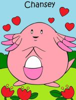 Chansey by Catherinex13