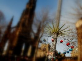 Christmas market , edinburgh by jannyman22