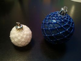 Fun with Beads - Ornaments by Crystal-Ice47