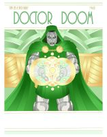 Deco Doctor Doom by MelUran