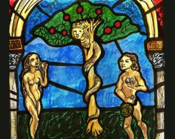 adam and eve by filifjonk