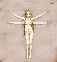 Vitruvian Fran by Radprofile