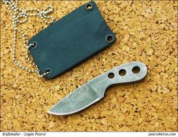 How to make a neck knife. by Logan-Pearce