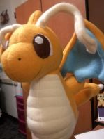 Flying Dragonite Plush by Vulpes-Canis