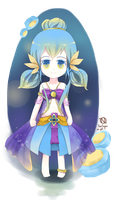 [Thai sweets fairy] Blue Elegance by TanSugar