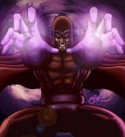 Magneto All Out by gidge1201
