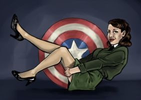Peggy Carter by blindthistle