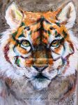 Tyger, Tyger. by Outputt