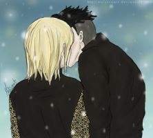 Love In Snow - Yurio x Otabek by malisvaart