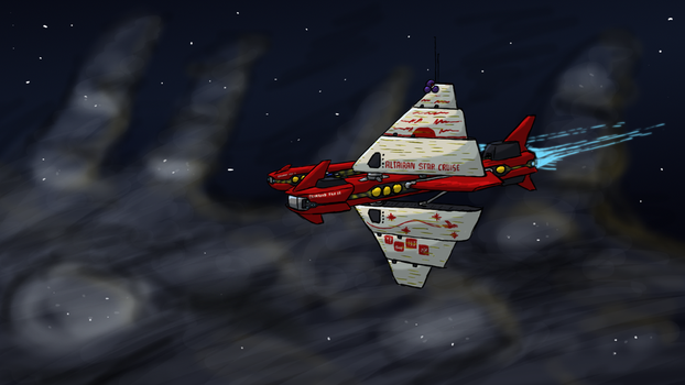 Altairan Star Cruiser by ScottaHemi