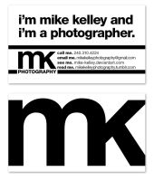 MKPhotography Business Card by dani-kelley