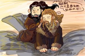 the hobbit(fili /kili by hcy750281