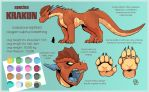 Species Sheet: Krakun by RickGriffin