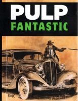 Pulp Fantastic RPG cover by RobertHack