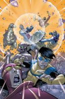Invincible 48 cover by RyanOttley