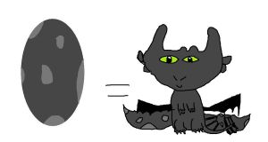 baby toothless by hannahweasley12