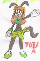 TDI and TDA - Izzy Warner by YoshiAngemon