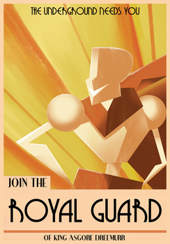 Join the ROYAL GUARD by locomotive111