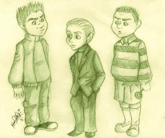 HP Slytherins by TottieWoodstock