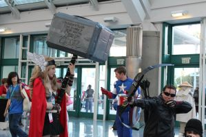 Avengers - AX 2012 by AtomicBrownie